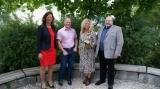 v.l. Schulrätin Barbara Keppeler, Bürgermeister Thomas Wörz, Konrektorin Marion Vega und Rektor Norbert Drexl
